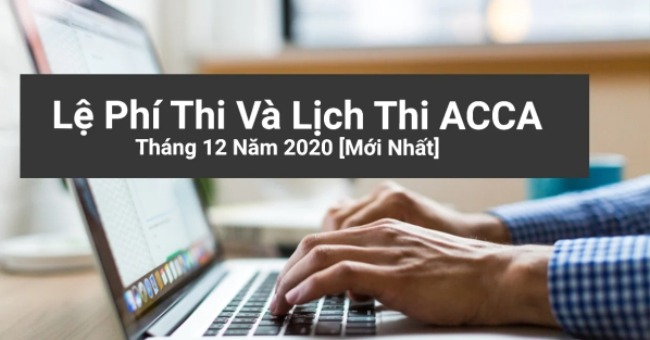lịch thi ACCA