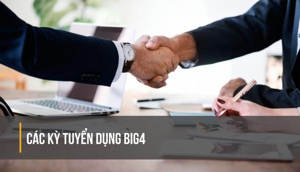 tuyển dụng big4