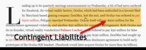 Contingent liabilities là gì