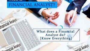 Financial analyst là gì