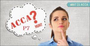 acca p7 là gì