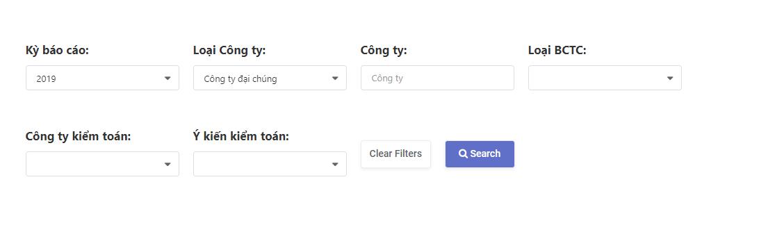 Cách tìm mẫu báo cáo tài chính IFRS của công ty Việt Nam tại Kreston